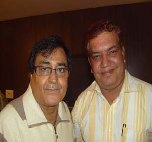 vinod arora with narendra chanchal